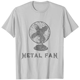 Metal Fan T-Shirt Funny Sarcastic Heavy Metal Music Novelty