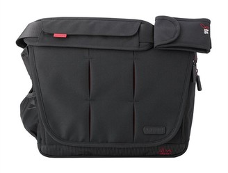 BabaBing Bababing! BabaBing! DayTripper City Deluxe Changing Bag with Integrated Mat Black