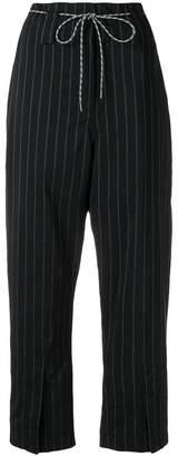 Odeeh pinstripe trousers