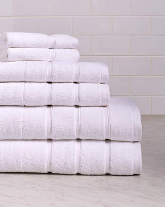 Bellino Villa Stripe Border 6Pc Towel Set