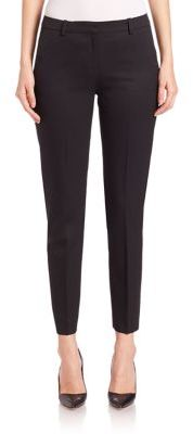 The Kooples Timeless Cropped Stretch Wool Pants $275 thestylecure.com