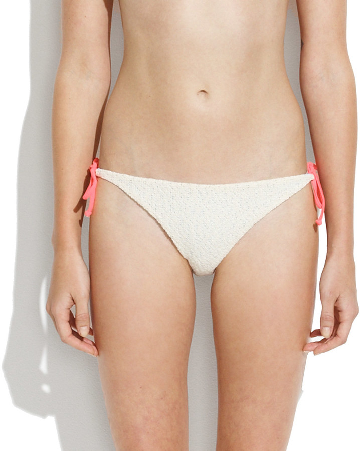 Madewell Basta® Surf Raglan String Bikini Bottom
