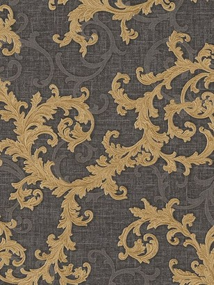 Versace Baroque And Roll Printed Wallpaper