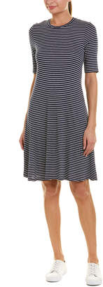 Three Dots Hyannis Stripe Easy Shift Dress