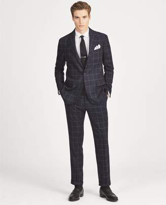 Ralph Lauren Polo Windowpane Wool Suit