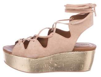 See by Chloe Lily Suede Sandals