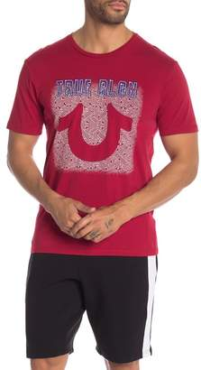 True Religion Neon U Crew Neck Tee