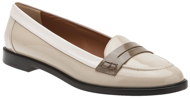 Fendi Cathy tri-color loafer