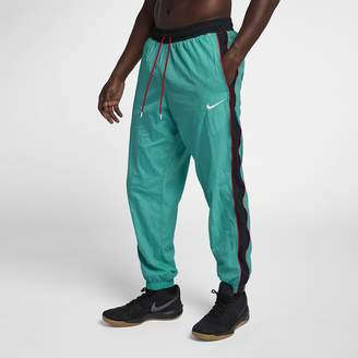 Nike Men's Woven Tracksuit Basketball Pants Throwback