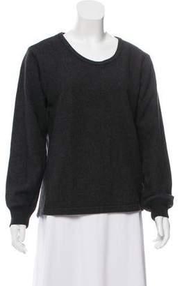 Saint Laurent Wool Scoop neck Sweater