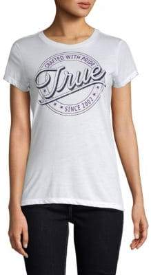 True Religion Circle True Crewneck Tee