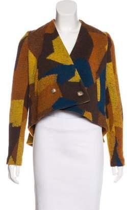 Thakoon Wool-Blend Short Coat