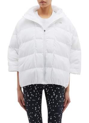 Calvin Klein Hooded down puffer poncho