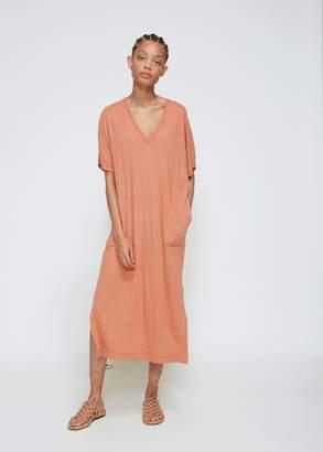 Raquel Allegra V-Neck Boxy Dress