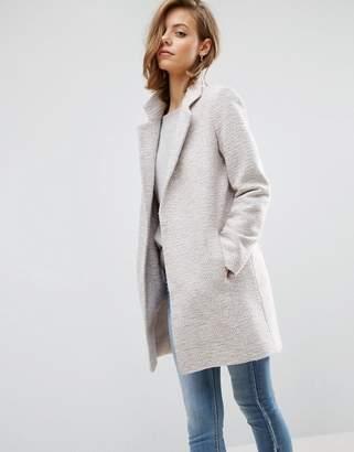 ASOS Slim Coat In Texture $87 thestylecure.com