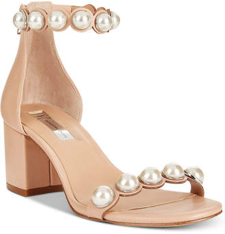 INC International Concepts I.n.c. Women's Haili Two-Piece Dress Sandals, Created for Macy's Women's Shoes