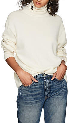 The Row Women's Janillen Cashmere Turtleneck Sweater - Ivory