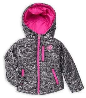Body Glove Little Girls Active Hooded Jacket