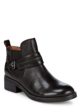 Gentle Souls Penny Zip Leather Booties