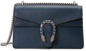 Gucci Pebbled Leather Shoulder Bag