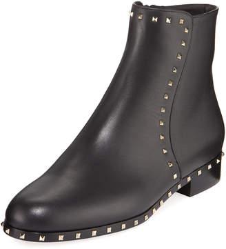 Valentino Rockstud Soul Zip Booties