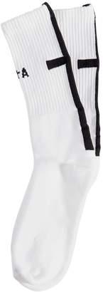 RtA Logo Cross Cotton Socks