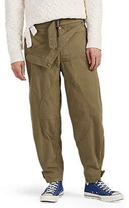 J.W.Anderson Men's Piqué Cotton Military Trousers