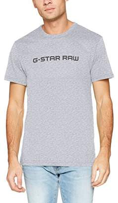 G Star Men's Loaq R T S/s T-Shirt, (Grey HTR 906)