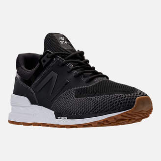 New Balance Men's 574 Sport Knit Casual Shoes
