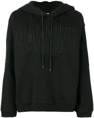 7 For All Mankind logo hoodie