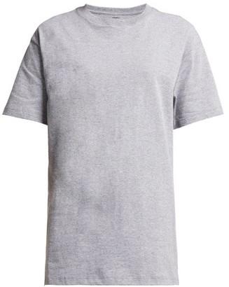 Hanes X Karla - The Original Cotton Jersey T Shirt - Womens - Grey