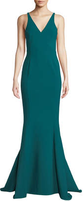 LIKELY Elisas V-Neck Mermaid Gown