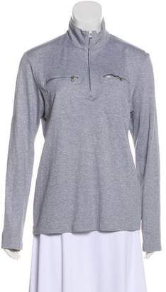 Michael Kors Long Sleeve High-Neck Top