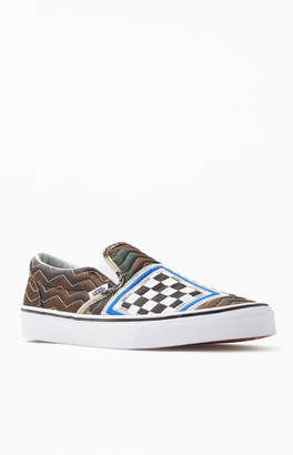 Vans Mixed Quilting Slip-On Shoes