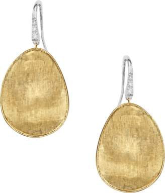 Marco Bicego Lunaria Diamond Pave Drop Earrings