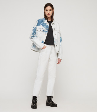 AllSaints Sage Oversized Denim Jacket