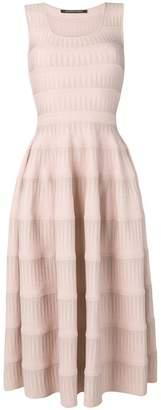 Valenti Antonino knitted flared midi dress