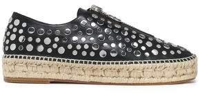 Alexander Wang Studded Leather Espadrilles
