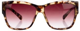 Paul Smith Tortoiseshell Wayfarer Sunglasses $65 thestylecure.com