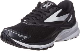 Brooks Women's Ghost 10 D Running Shoe (BRK-120246 1D 3887220 6.5 067 BLACK/PINK/CORAL)