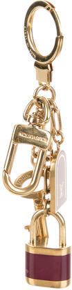 Louis VuittonLouis Vuitton Padlock Bag Charm