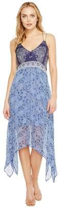 Lucky Brand Scarf Print Dress Women's Dress