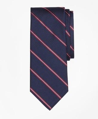 Brooks Brothers Spaced Framed Stripe Tie