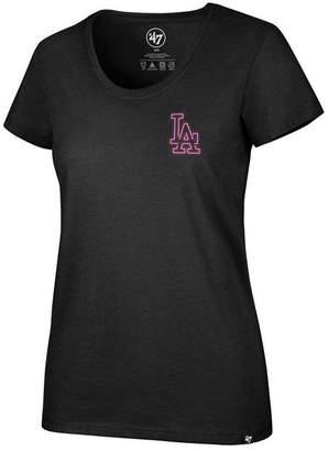 '47 Women's Los Angeles Dodgers Neon T-Shirt