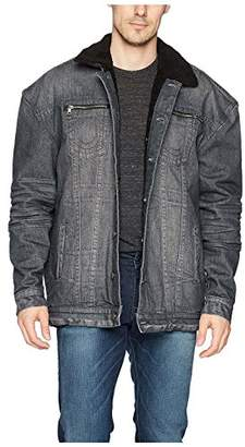 True Religion Men's Turner Sherpa Denim Jacket
