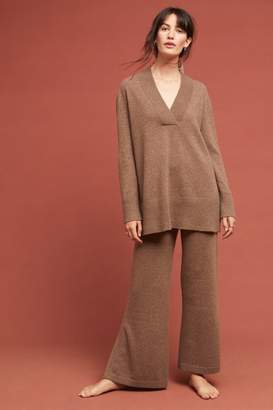 Cashmere Flare Trousers