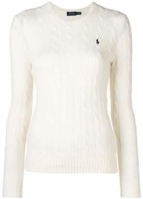 Polo Ralph Lauren logo patch sweater