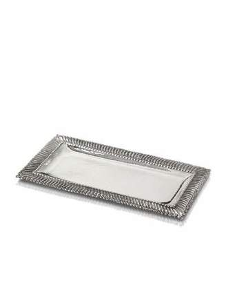 Buccellati Rouche Sterling Silver Letter Tray