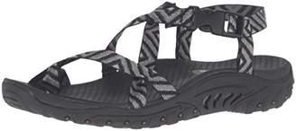 Skechers Women's Reggae-Haystack Toe Ring Sandal,5 M US
