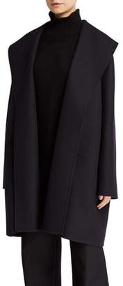 The Row Maddy Felted Wool Wrap Coat
